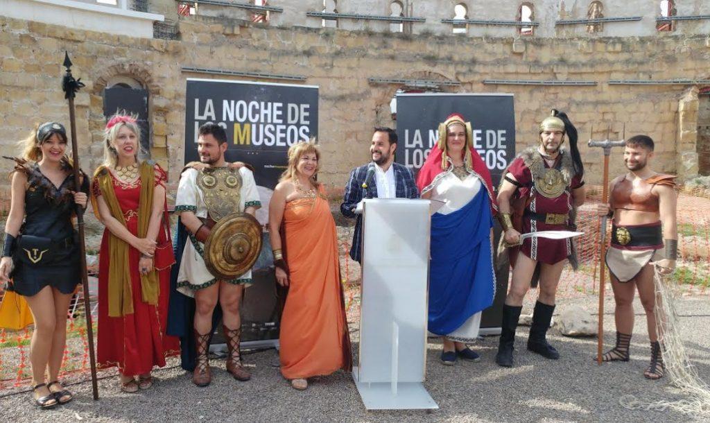 Presentación de LA NOCHE DE LOS MUSEOS