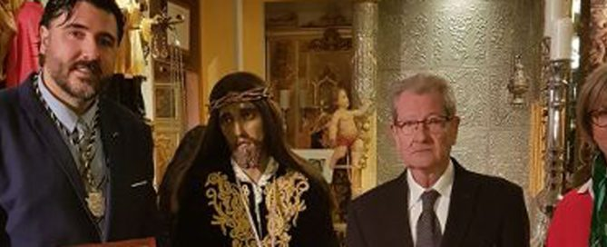 Jose Antonio Meca. Presidente de Honor de la Asociación Canónica del Santísimo y Real Cristo de la Misericordia