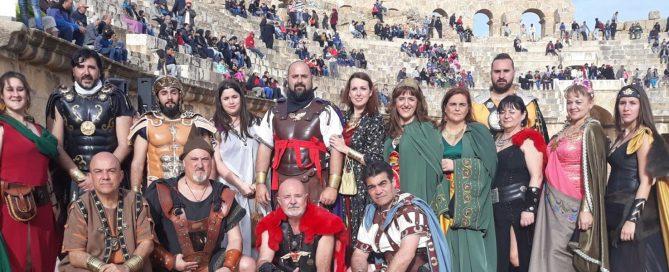 Promocionando las fiestas en Tunez