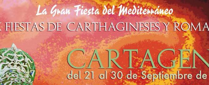 Cartel oficial y video promocional de las fiestas de Carthagineses y Romanos 2018