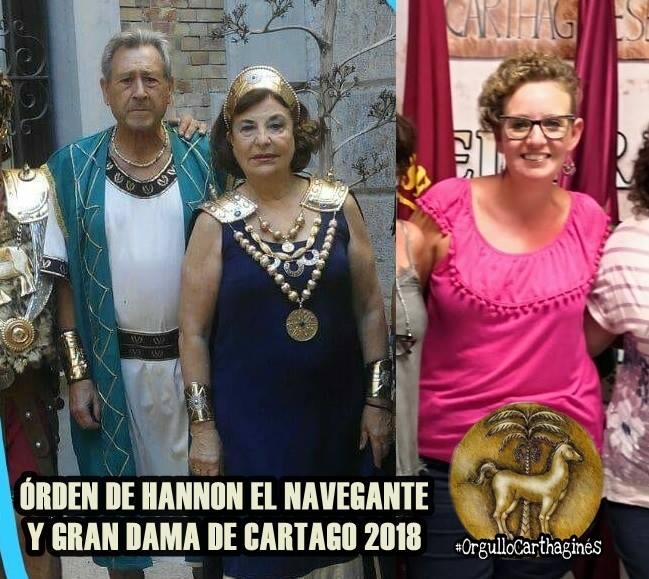Gran Dama de Carthago y Hannón el Navegante 2018
