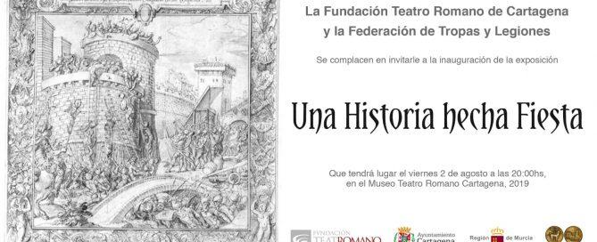 """""""UNA HISTORIA HECHA FIESTA"""" - Exposición temporal sobre Carthagineses y Romanos en el Museo del Teatro Romano"""