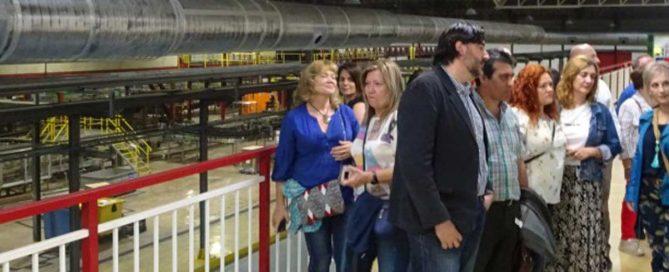 Tropas y Legiones visitan la fábrica de Amstel en Valencia