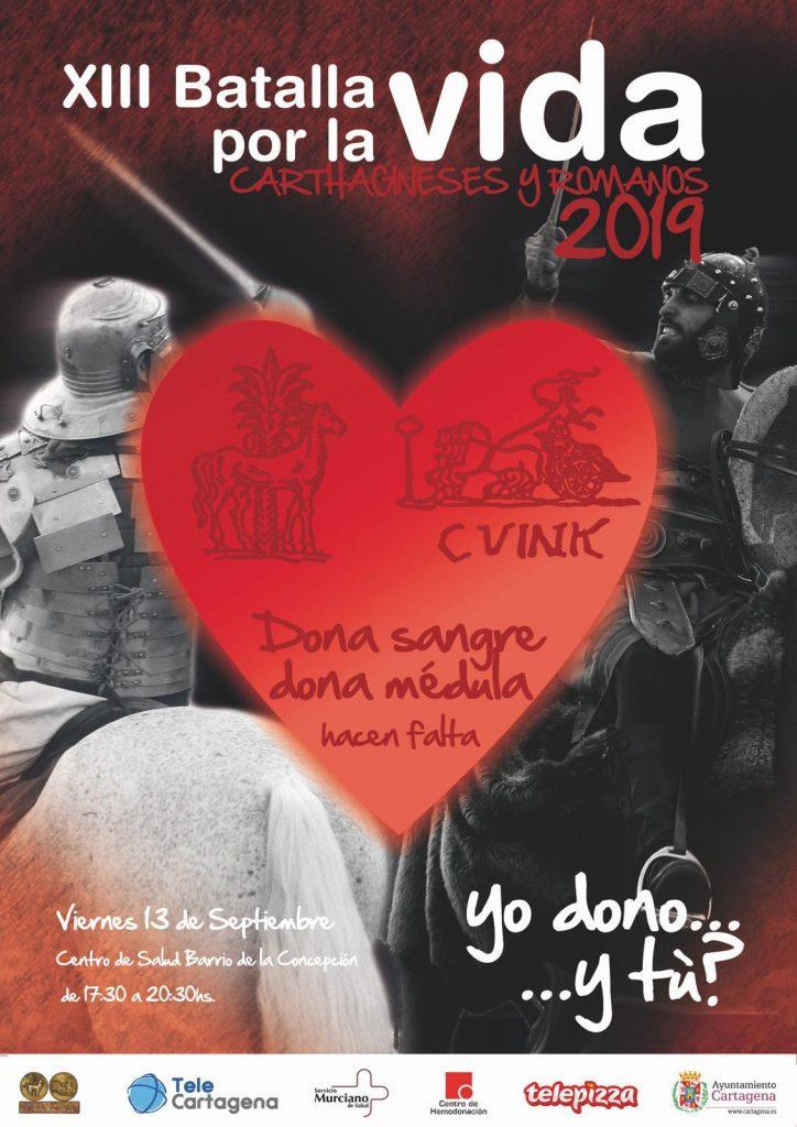 XIII Batalla por la vida carthagineses y Romanos