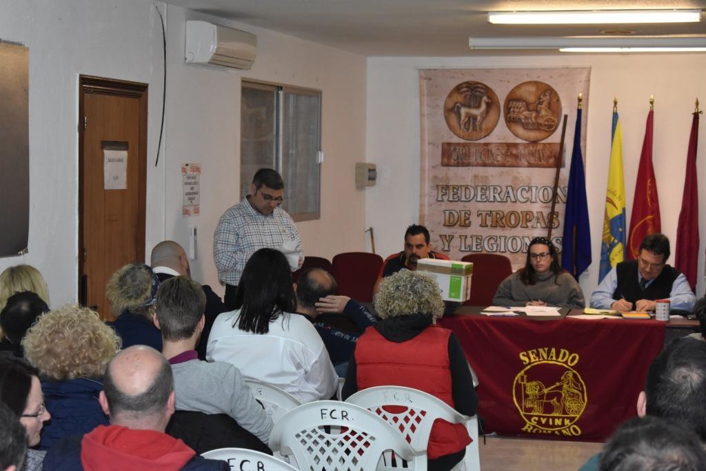 Los presidentes romanos dicen SI a Javier Isbert como nuevo presidente del Senado Romano