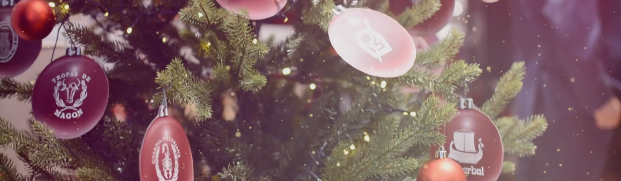 Felicitación navideña de parte de la Federación de Tropas y Legiones