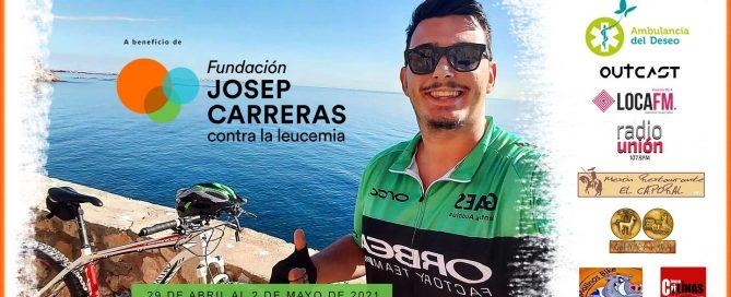 400 kilómetros contra la leucemia. Una iniciativa de Juanxo.