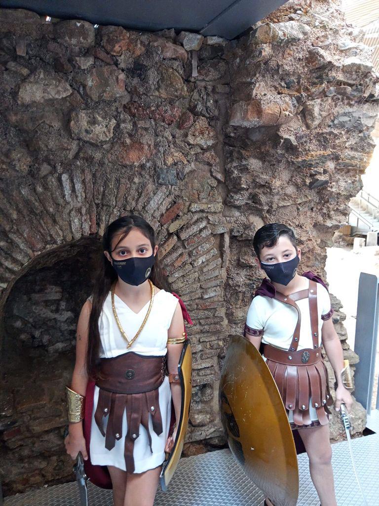 Los romanos ya tienen Escipión y Emilia Paula Infantil para 2021.