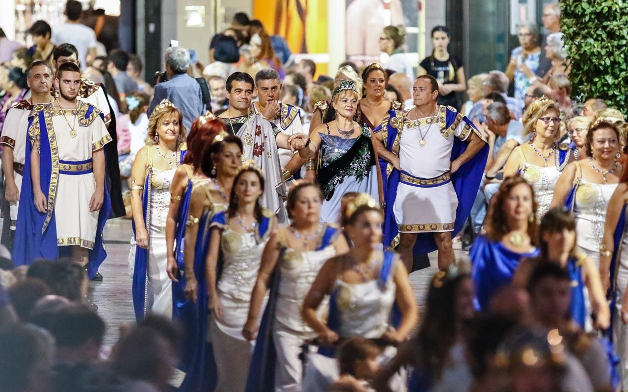 Conoce las Fiestas de Carthagineses y Romanos