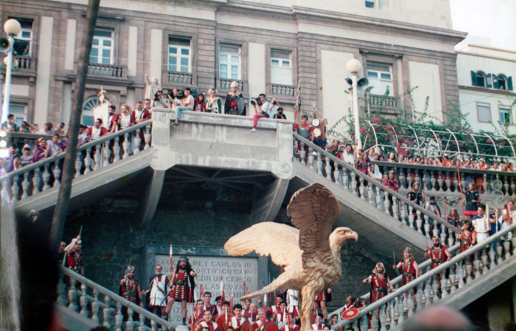 Campamento Año 1990 - Paseo del Muelle Alfonso XII