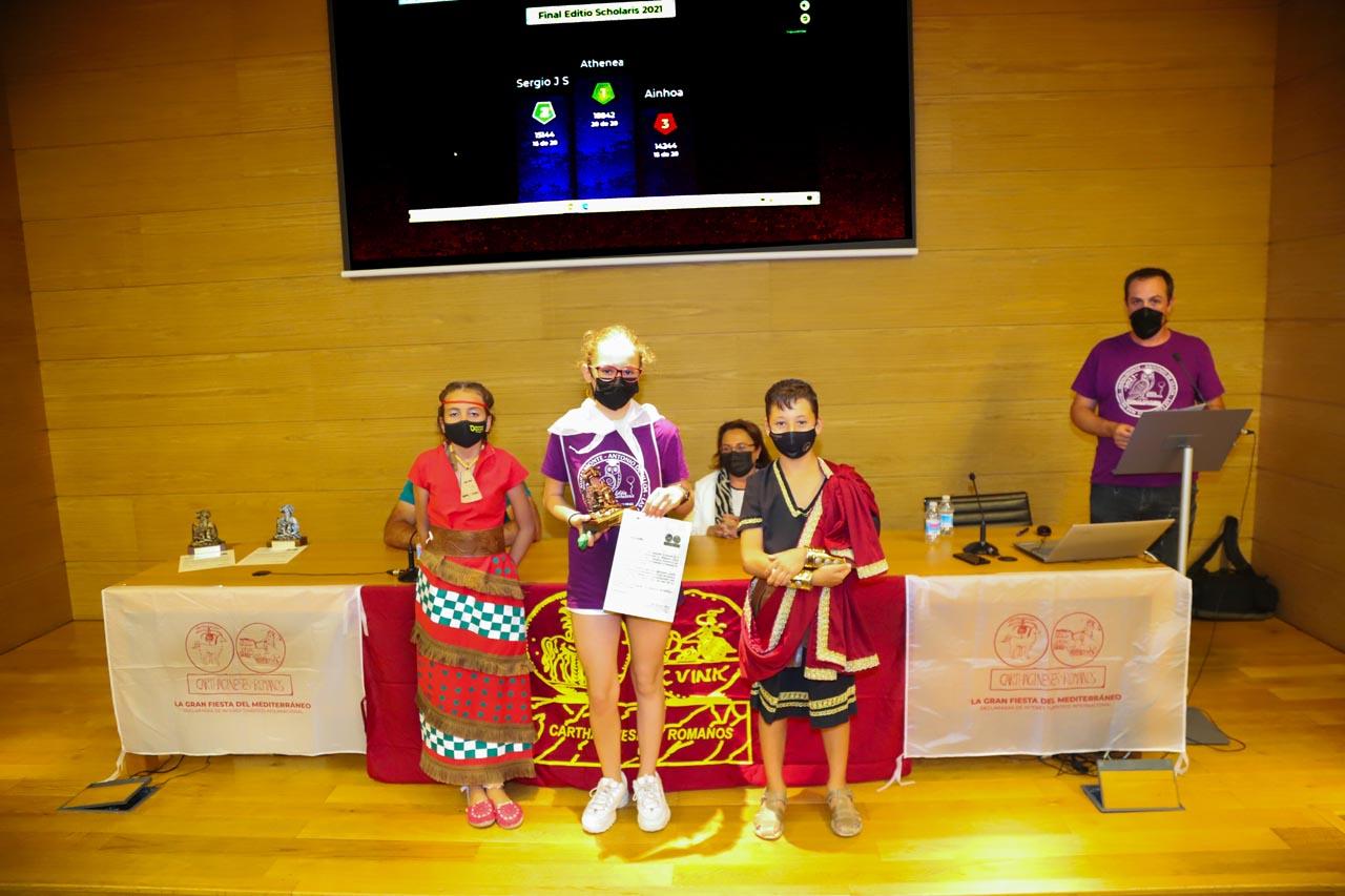 Final de la I Batalla Cultural Editio Scholaris 2021