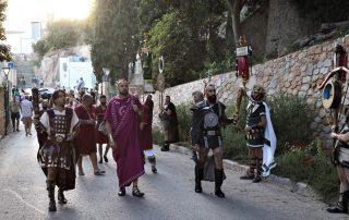 Carthagineses y Romanos 2021. Pregonillo + Iter Ignis + Pregón de las Fiestas
