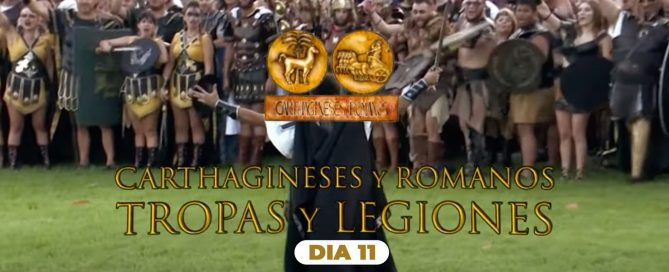 Entrevistas de Telecartagena - Día 11. [Legion de Sagunto - Mercenarios Íberos - Legio XV Harpastum]