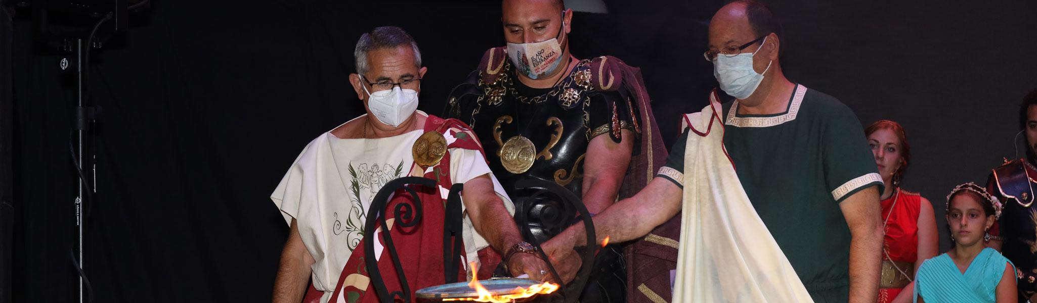 Apagado del Fuego Sagrado y Castillo de Fuegos Artificiales. Carthagineses y Romanos 2021