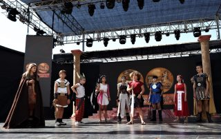 Fundación Infantil + Fundación de Qart Hadasht + Partido de Rugby. Carthagineses y Romanos 2021