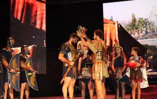 Gran Batalla, Victoria de Roma, Ley Romana, Izado de Bandera y Homenaje a los Caídos. Carthagineses y Romanos 2021