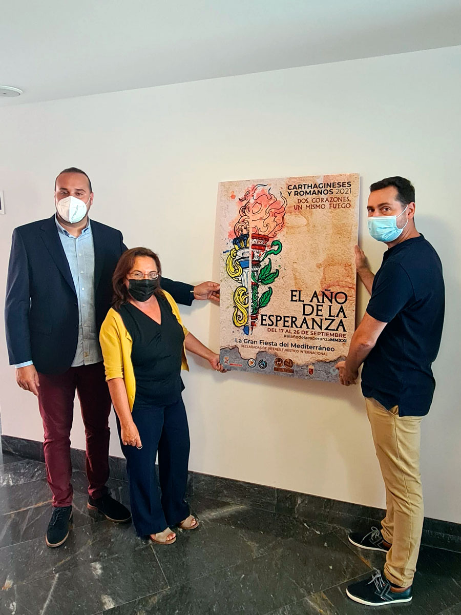 """Vuelve la Exposición Temporal """"UNA HISTORIA HECHA FIESTA"""" en el Museo Teatro Romano de Cartagena"""
